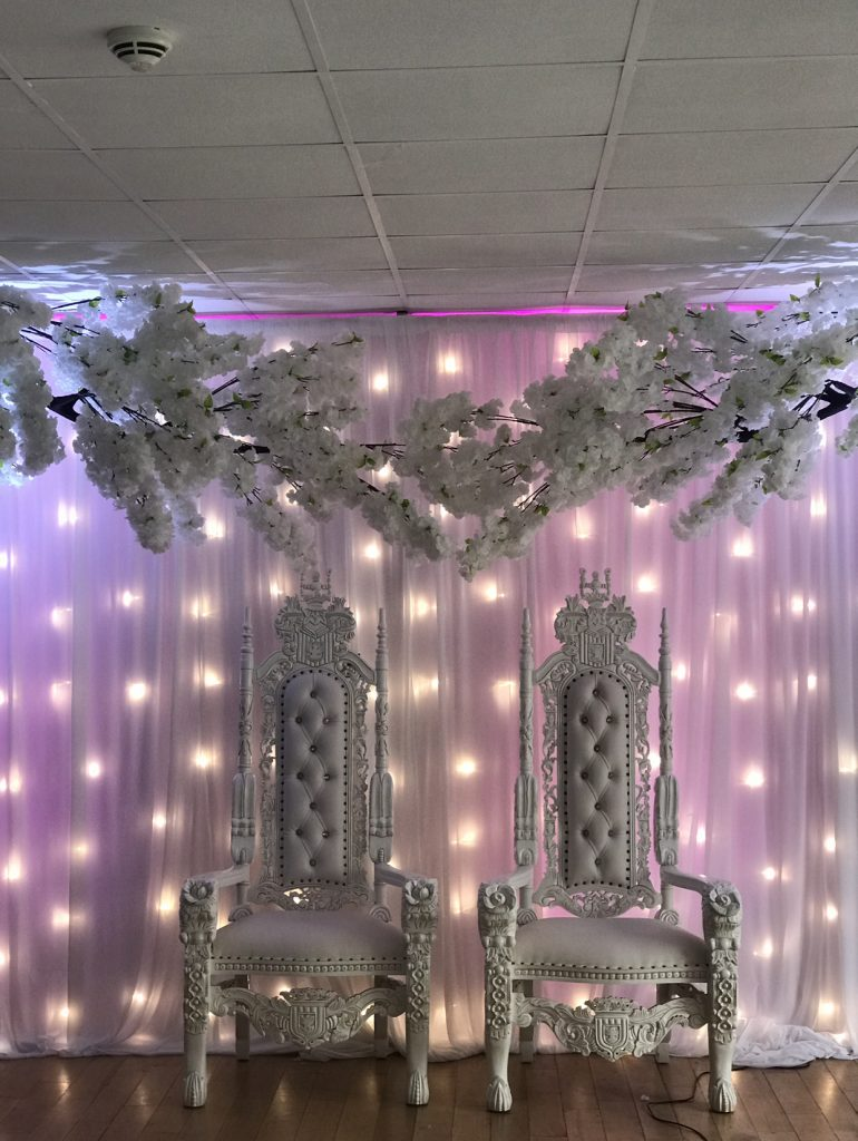 Blossom tree hire George hotel for Weddings