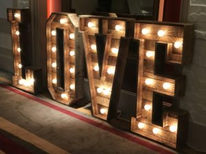 Our Rustic LOVE Letters